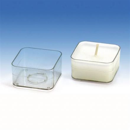 Square Tealight Cups / Mould x 10